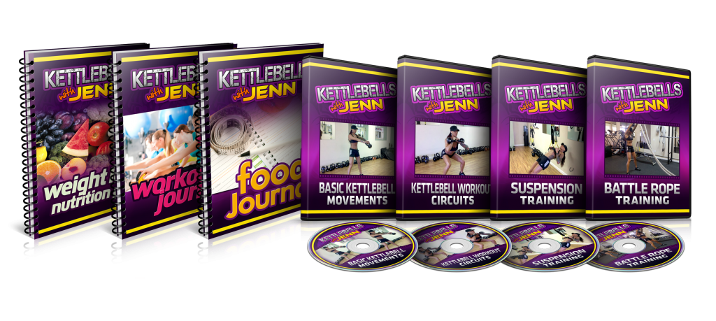 kettlebells with jenn is the brand new cutting edge weight loss system